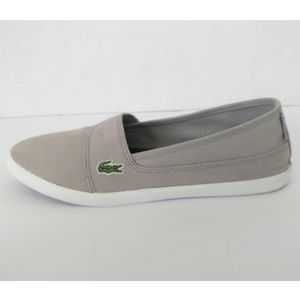 LACOSTE MARICE slip on loafers sneakers boat shoes